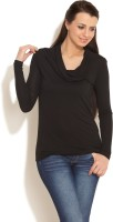 FREECULTR Casual Short Sleeve Solid Women's Top