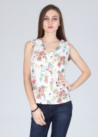 Amari West Casual Sleeveless Printed Women's Top