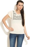 109F Casual Short Sleeve Women's Top