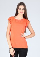 Alibi Casual Solid Women's Top