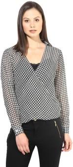 The Vanca Formal Full Sleeve Printed Women's Top