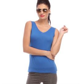 Amari West Casual Sleeveless Solid Women's Top
