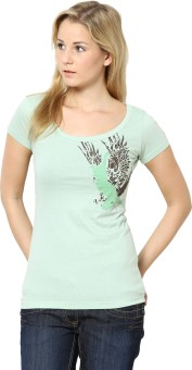 Species Casual Short Sleeve Graphic Print Women's Top