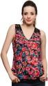 Yepme Casual Sleeveless Floral Print Women's Top
