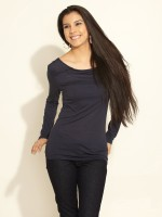 s.Oliver Casual Short Sleeve Solid Women's Top