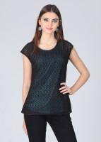 Meee Casual Short Sleeve Solid Women's Top