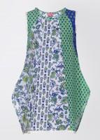 Biba Casual Sleeveless Printed Girl's Top