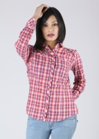 Allen Solly Casual Full Sleeve Checkered Women's Top