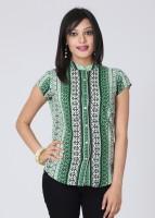 Mumbai Slang Casual Printed Women's Top