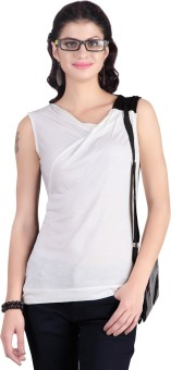 Stop To Start Casual Sleeveless Solid Women's Top Casual Sleeveless Solid Women's Top