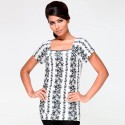My Addiction Casual Short Sleeve Floral Print Women's Top - TOPDSNF28G8ERZZF