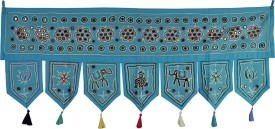 Lal Haveli Traditional Handmade Bandhanwar Door Valance Door Decoration Toran