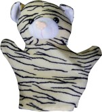 Tiny Tickle Zebra Hand Puppets Toys For Kids
