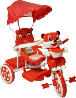 Love Baby 507-Red Tricycle