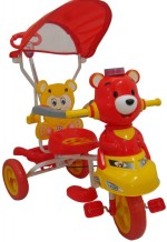 HLX NMC Kids Smart Bear Red Tricycle