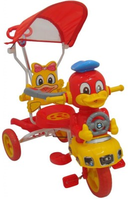 HLX NMC Kids Smart Duck Red Tricycle