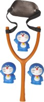 Wishkey DORAEMON SLING SHOT CUM BATH TOY (Multicolor)