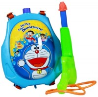 DealBindaas Holi Water Gun Back Pack Tank Squirter Blue (Multicolor)