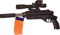 A R ENTERPRISES TOY Black GUN WITH BULLET (Black)