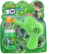 Wishkey Ben 10 Bubble Gun (Green)