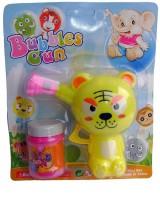 Shoplorry Bubble Gun Toy (Yellow, Pink)