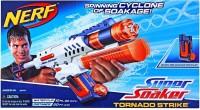 Nerf Super Soaker Tornado Strike White, Blue, Orange