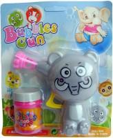Shoplorry Bubble Gun Toy (Grey)