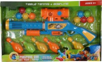 Toyhut Bowling & Table Tennis Ping Pong Gun (Multicolor)