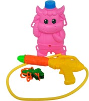 Toyzstation Darling Pichkari Piggy Water Tank (Multicolor)