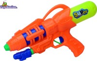 Toyzstation Super Water Gun Pichkari With Free Balloons Assorted (Multicolor)