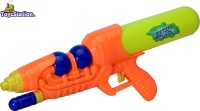 Toyzstation Flash Water Pressure Gun Pichkari With Free Balloons Assorted (Multicolor)