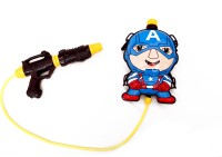ETHOS PICHKARI CAPTAIN AMERICA WATER TANK WITH GUN (ETHOS) (Multicolor)