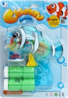Jumbo Clownfish Bubble Gun (Red)
