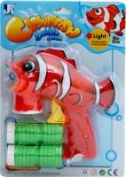 Jumbo Clownfish Bubble Gun (Blue)