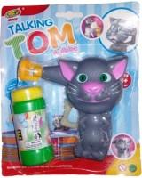 Turban Toys Talking Tom Cat Bubble Making Toy (Multicolor)