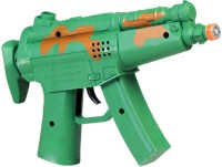 DealBindaas Musical Toy Gun Non Battery (Green)