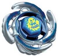 Takaratomy Beyblades 105F Premium Returns Booster Aquario Battle Top (Multicolor)