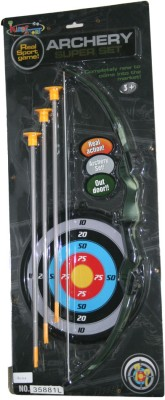 AdraxX Mini Recurve Archery Bow Set for Kids Muticolor