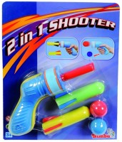 Simba Air Toys 2 in 1 Soft Dart and Ball Pistol Set
