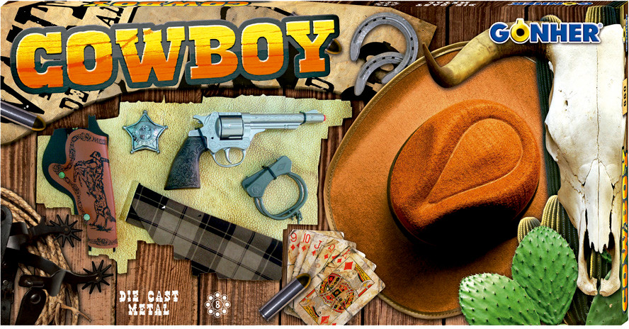 Buy Gonher Cowboy Play Set with Hat   ₹ 2999 by Gonher from ... 66e1995199b