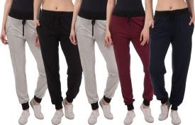 Kinma Self Design Women's Multicolor Track Pants - TKPEG58WKC2GSDFQ