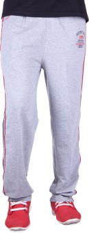 Unifit Double Side Stripe Style Pyjama Solid Men's Track Pants - TKPE74Z2ZNYWMDUF