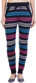 Wake Up Competition Printed Women's Dark Blue Track Pants