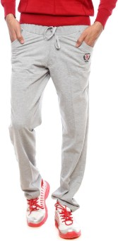 Sports 52 Wear T1095 Solid Men's Grey Track Pants