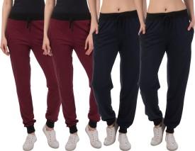 Kinma Self Design Women's Multicolor Track Pants - TKPEG58PC2F3VGYE