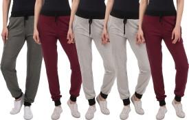 Kinma Self Design Women's Multicolor Track Pants - TKPEG58SHPE7ADQ4