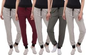 Kinma Self Design Women's Multicolor Track Pants - TKPEG58YP78BPJGF