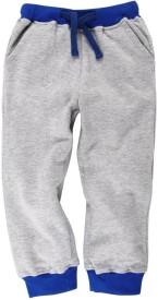 Oye Solid Girl's Grey Track Pants