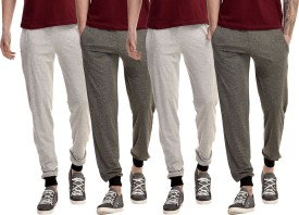 Kinma Self Design Men's Multicolor Track Pants - TKPEG58SDBNAYYFD