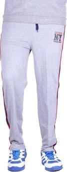 Unifit Double Side Stripe Style Pyjama Solid Men's Track Pants - TKPE74Z27GBAV376